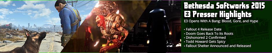 News: Bethesda Softworks E3 2015 Presser Highlights