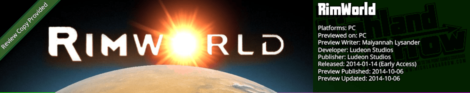 Preview: RimWorld