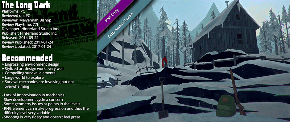Early Access Review: The Long Dark