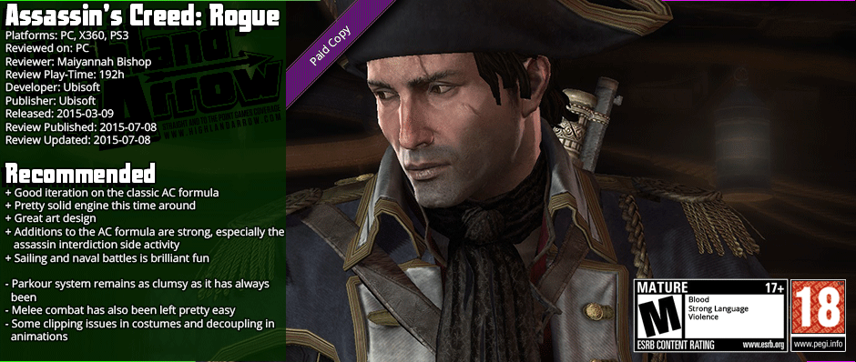 Review: Assassin's Creed: Rogue