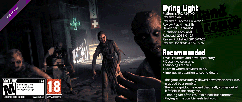 Review: Dying Light