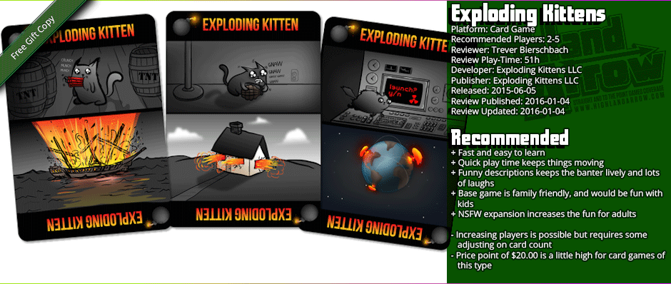 From The Hip: Exploding Kittens