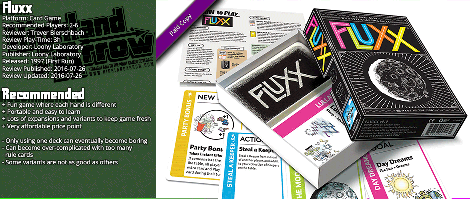 Review: Fluxx