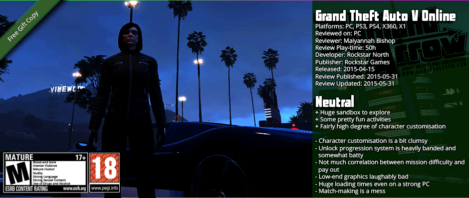 Review: Grand Theft Auto V Online