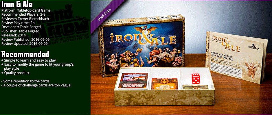 Tabletop Review: Iron & Ale