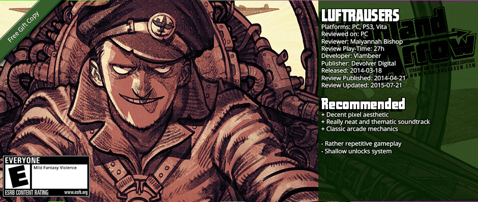 From the Hip: LUFTRAUSERS