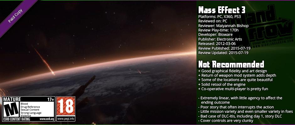 Review: Mass Effect 3