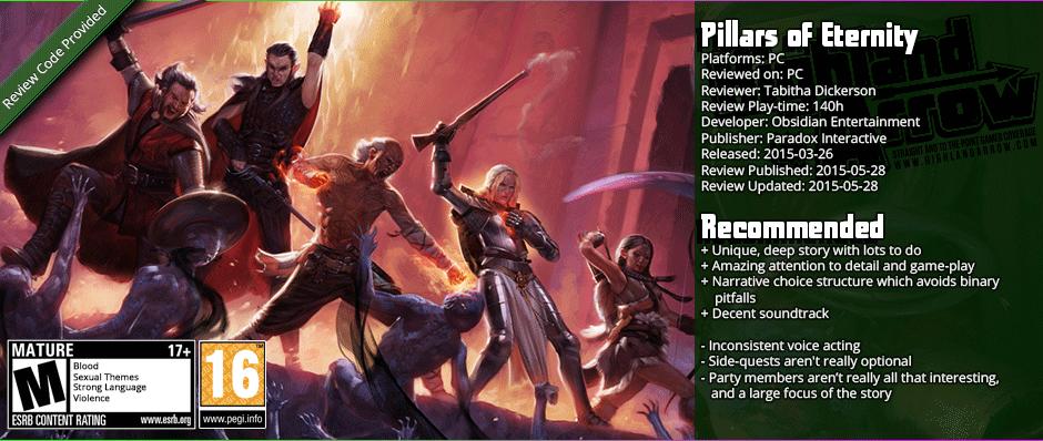 Review: Pillars of Eternity