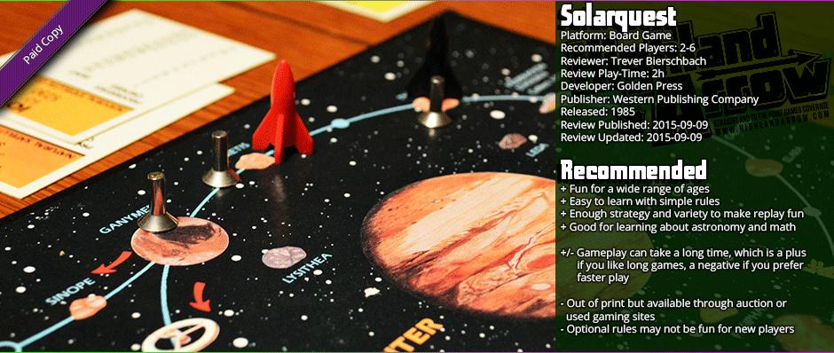 Nostalgia Train: Solarquest