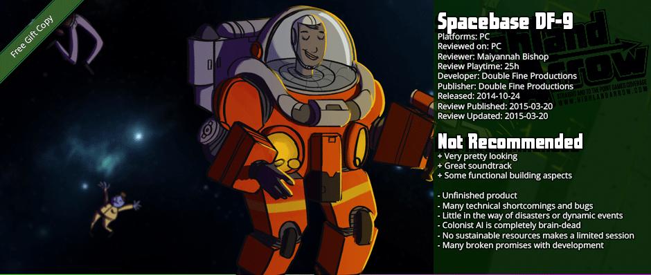 Review: Spacebase DF-9