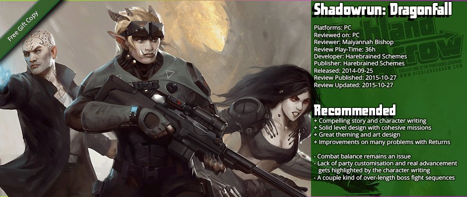 Review: Shadowrun - Dragonfall