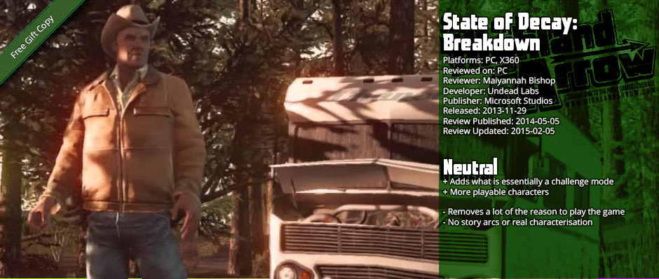 From the Hip: State of Decay: Breakdown