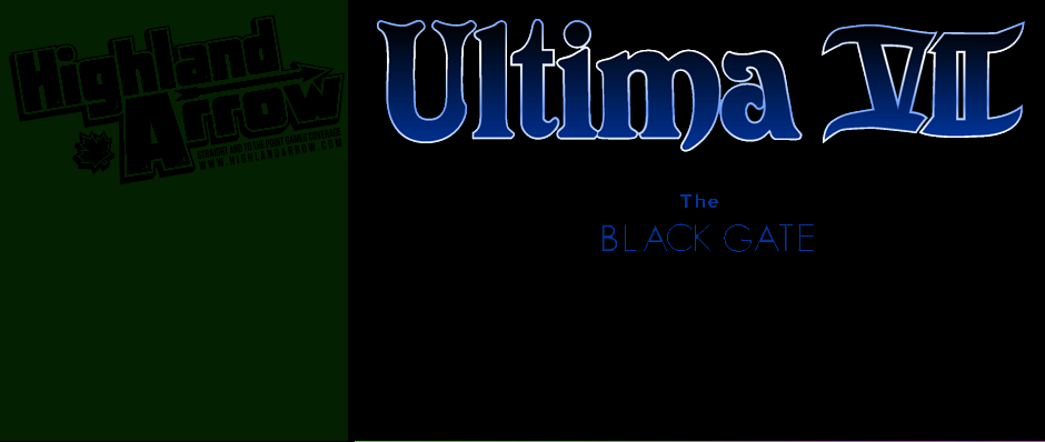 Nostalgia Train: Ultima VII