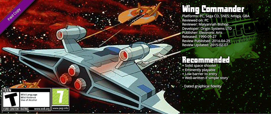 Nostalgia Train Review: Wing Commander