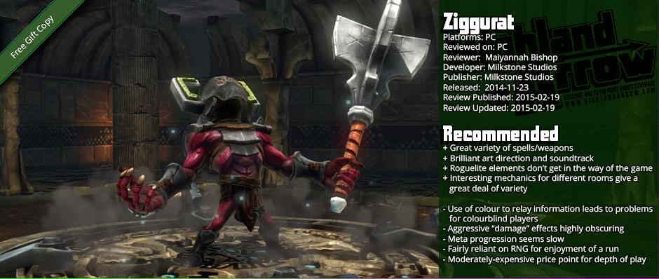 Review: Ziggurat